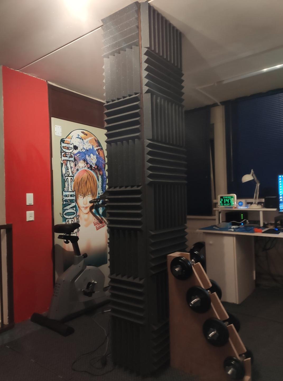 gameruimte met ventilatieschacht