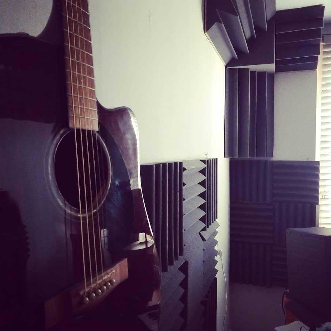 kleine studio akoestisch verbeterd