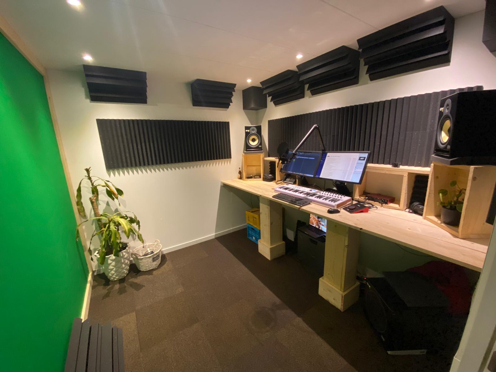 Muziek studio Sittard akoestisch verbeterd
