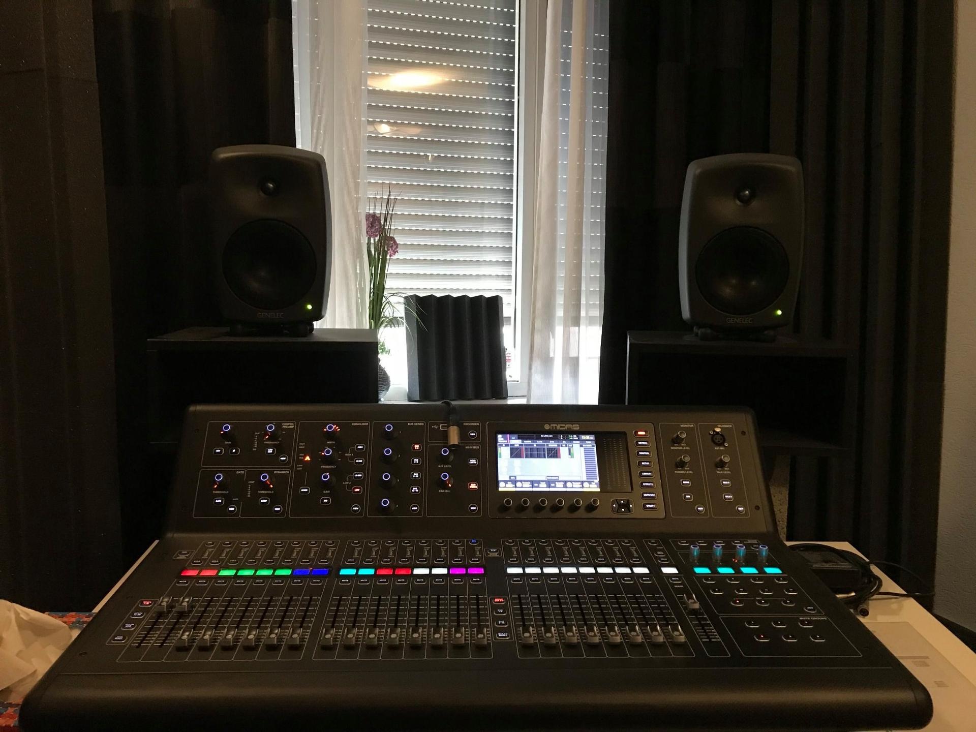 Studio Spijkenisse akoestisch. verbeterd