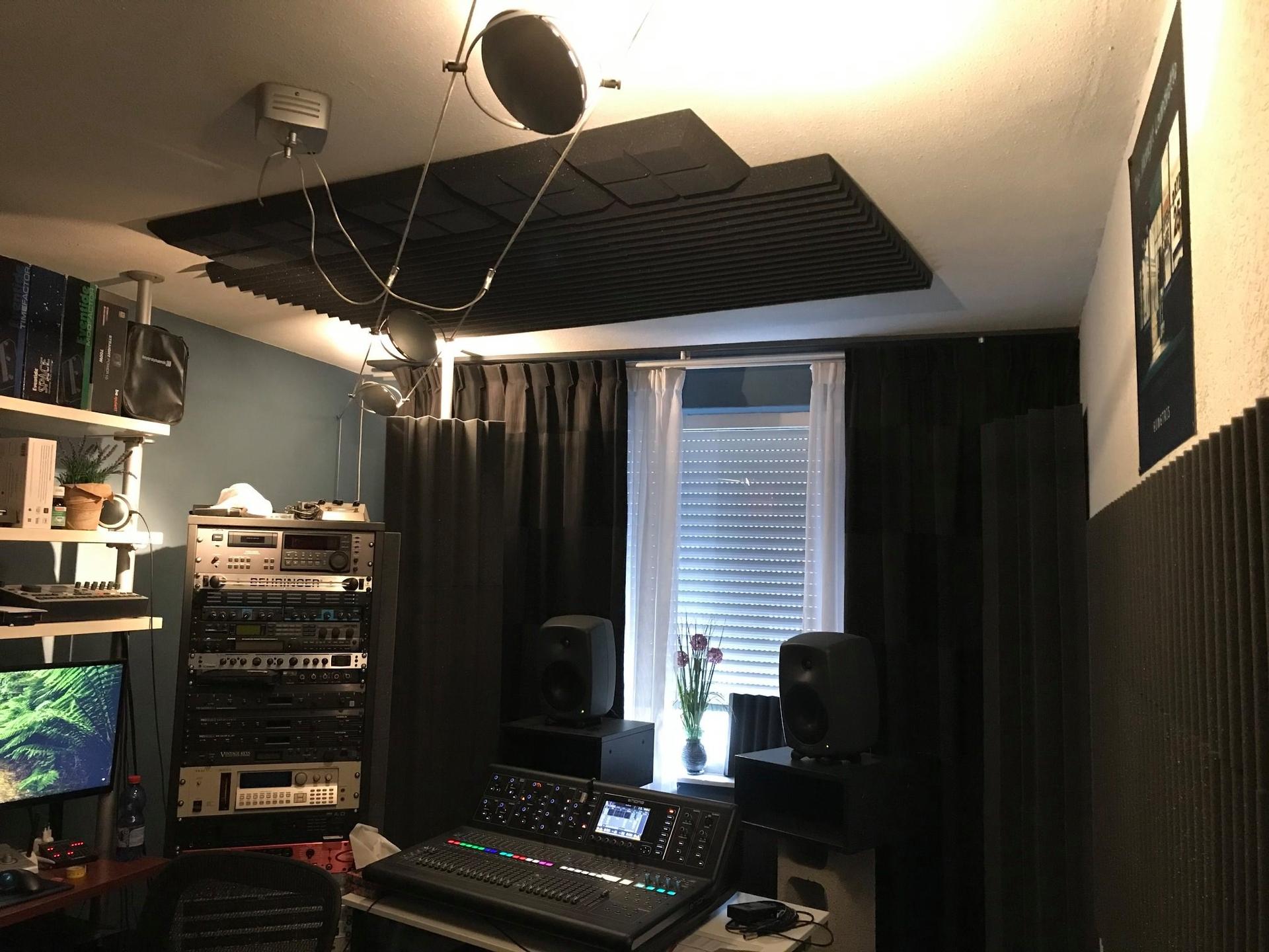 Studio Spijkenisse plafond panelen