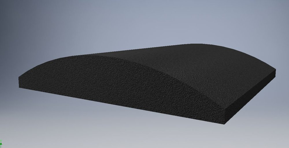 Tegel Convex (Afm. 30x30cm Dikte 5.6cm)