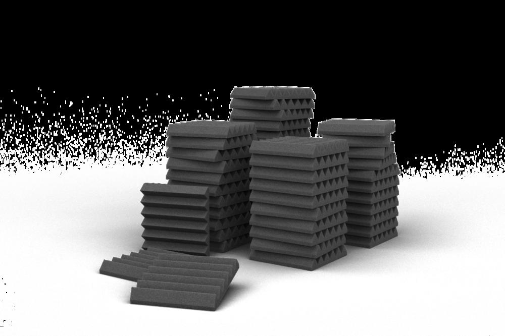 Tijdelijke aanbieding: Set van 48 stuks Wedges 5.0cm 30x30cm