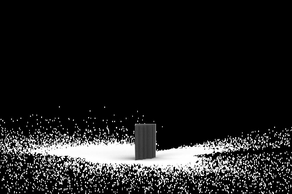 Bass Trap 15x25 (15cm zijde, 25cm lengte)