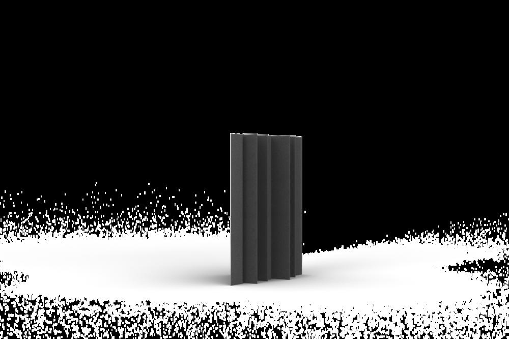 Bass Trap 30x60 (30cm zijde, 60cm lengte)