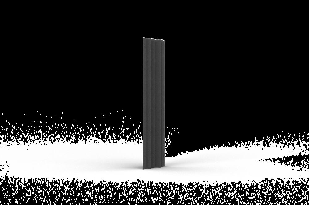 Bass Trap 15x90 (15cm zijde, 90cm lengte)