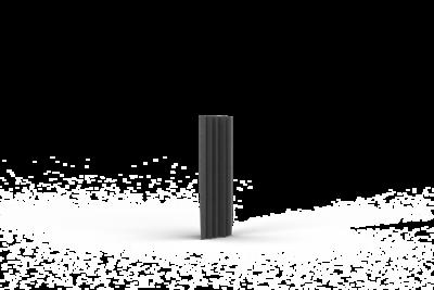 Bass Trap 15x60 (15cm zijde, 60cm lengte)